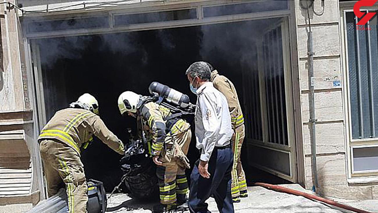 آتش سوزی هولناک خانه مسکونی در محله فلاح + عکس ها