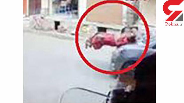 خوش شانسی  مادر و کودک در صحنه مرگبار + عکس
