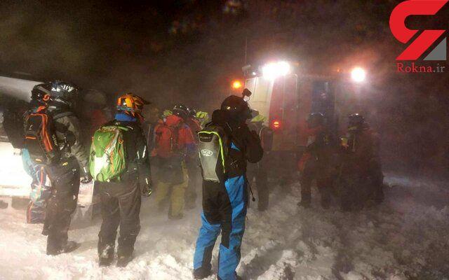 ۳۹ گردشگر گرفتار در یخچال طبیعی ایسلند نجات یافتند
