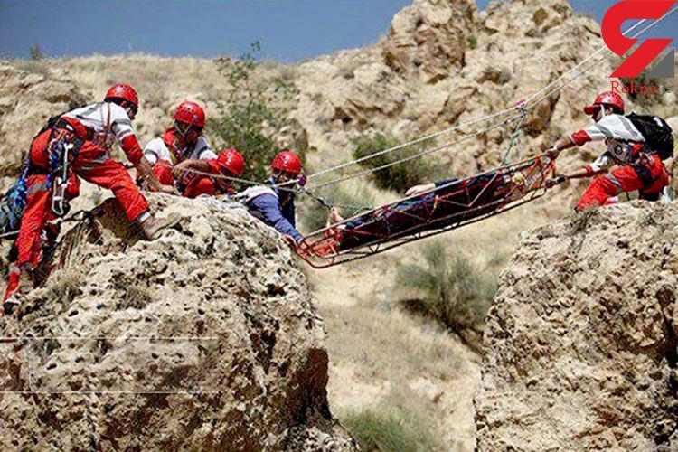 نجات 2 کوهنورد در ارتفاعات الموت قزوین