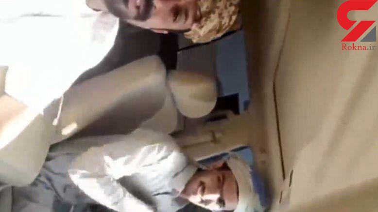 2 مرد قبل از تصادف مرگبار از خود فیلم عجیبی گرفتند!+فیلم
