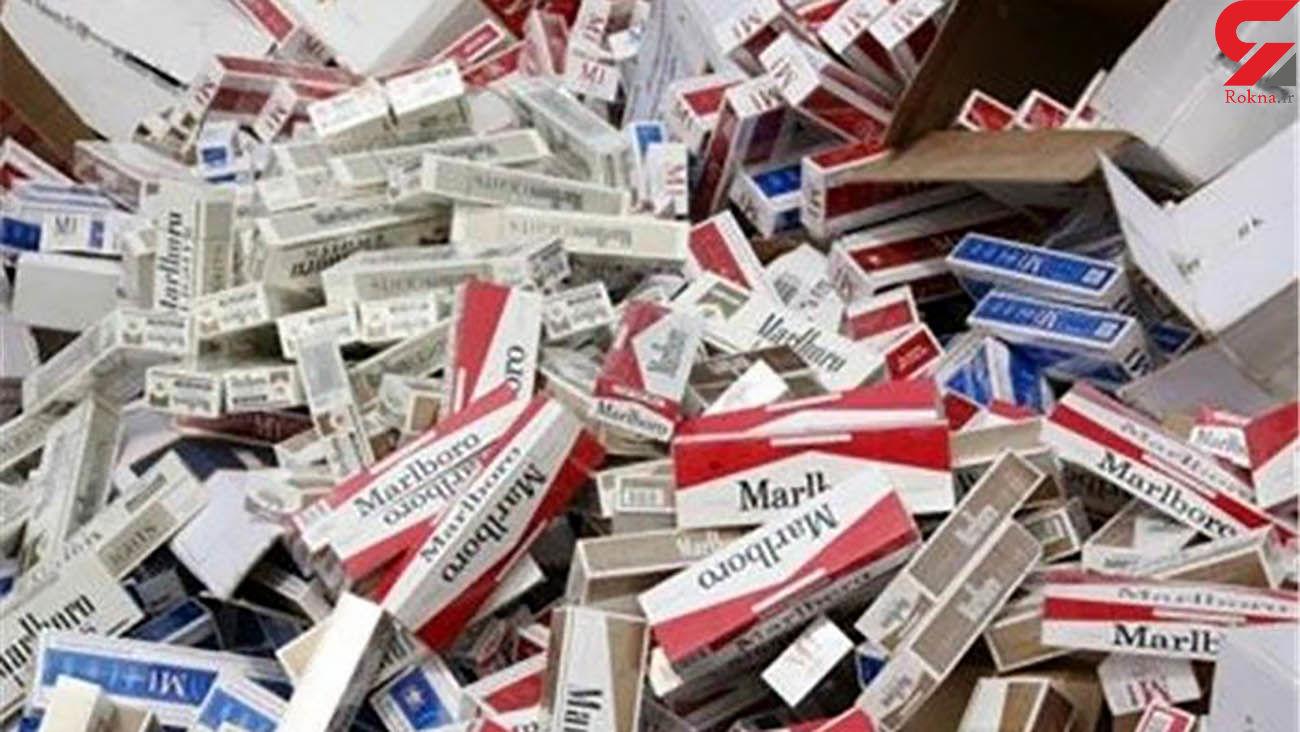 کشف بیش از 140 هزار نخ سیگار قاچاق در خوانسار