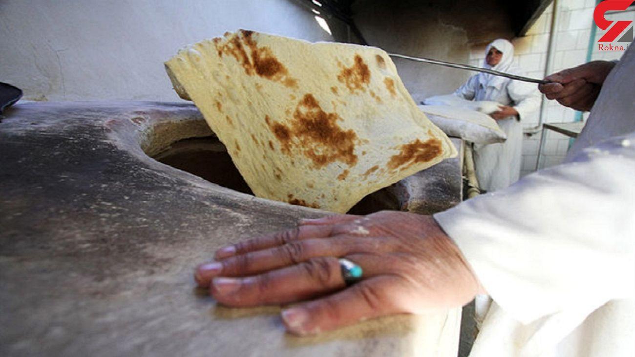 پخت نان بی کیفیت در بجنورد