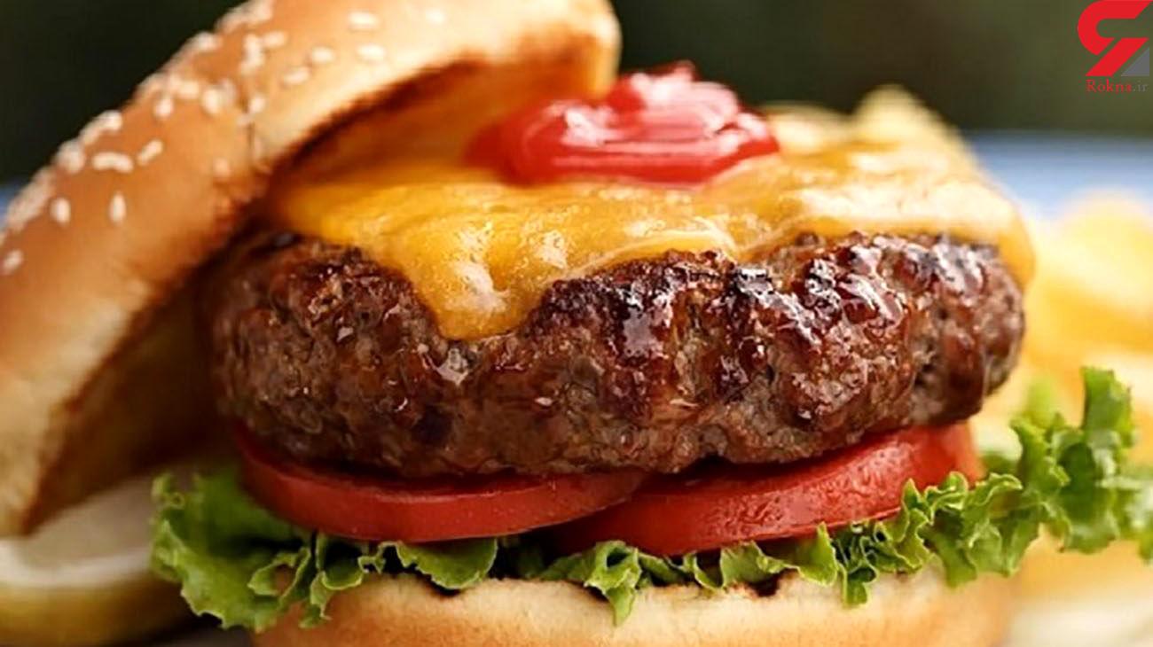 بلایی که همبرگر سر مغزتان می آورد