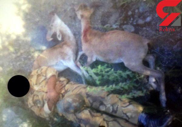 سلفی های زشت 2 شکارچی در کوه های سبزوار + عکس