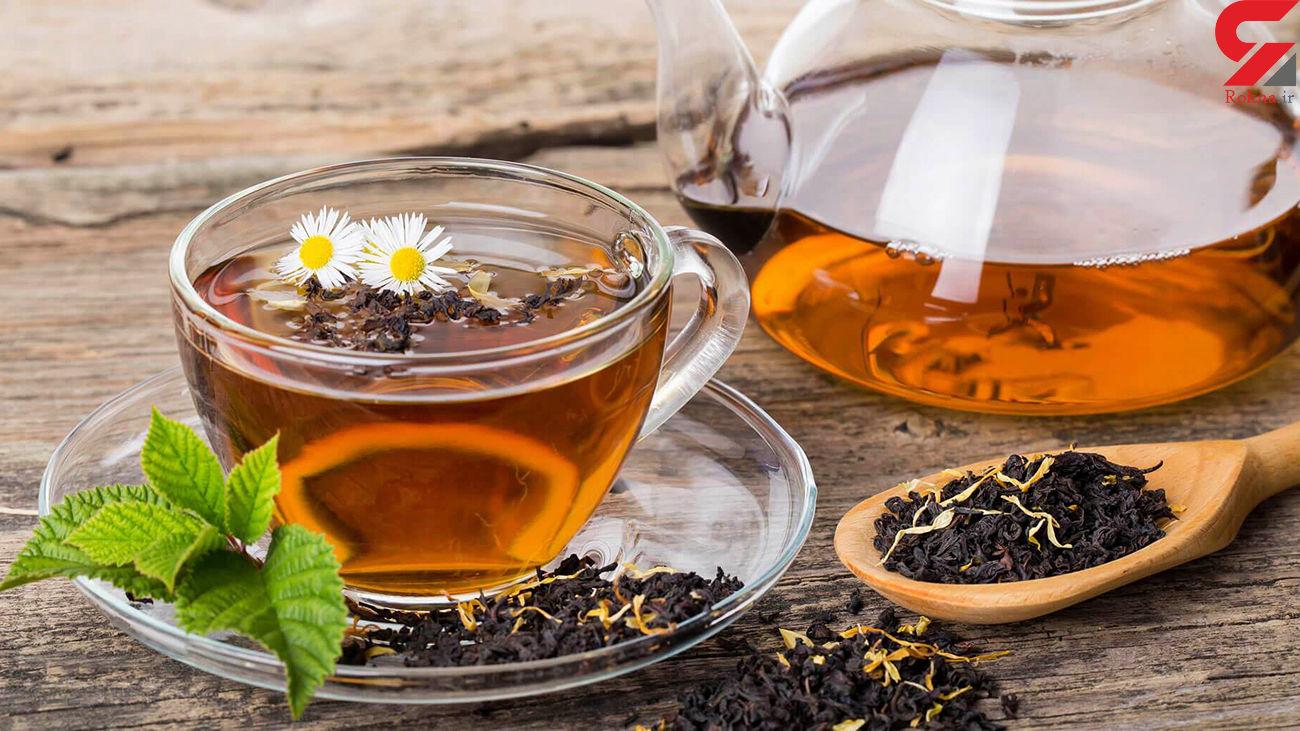 مضرات مصرف زیاد چای سبز و سیاه چیست؟