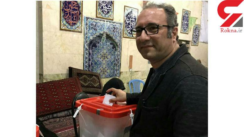 رضا میر کریمی در انتخابات ریاست جمهوری شرکت کرد+ عکس