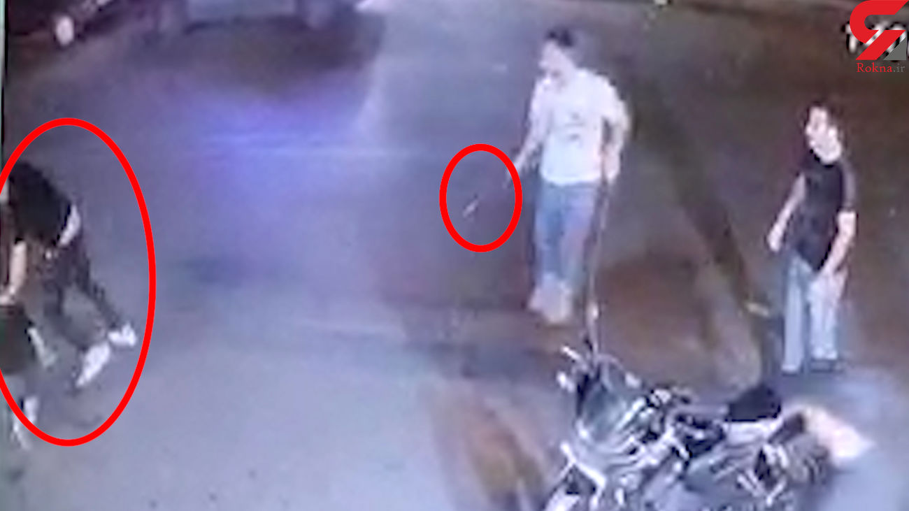فیلم صحنه وحشتناک قتل گنده لات تهران در وسط خیابان + عکس و جزییات