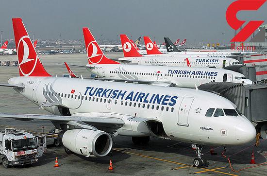 لغو  ۸۵ درصد پروازهای ترکیه در پی شیوع کرونا