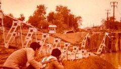 تصاویر دیده نشده از حضور حمید معصومینژاد در جبهه