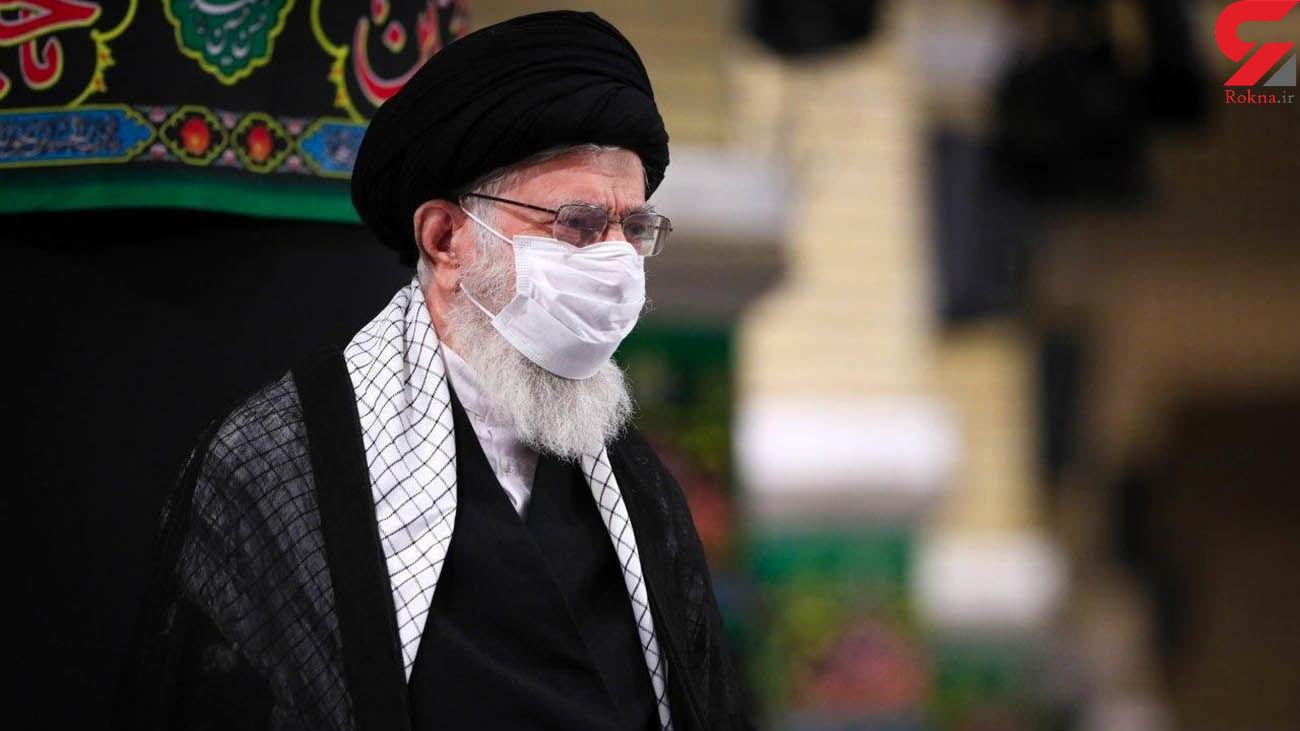 برگزاری مراسم عزاداری شب عاشورای حسینی در حضور رهبر انقلاب